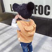 嬰幼兒馬甲秋冬兒童男連帽0-1-2-3歲寶寶馬甲背心男童帥氣潮