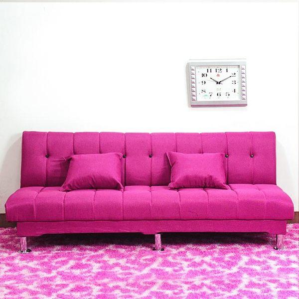 多功能沙發床睡覺雙人可摺疊簡易布藝三人1.8懶人沙發出租房客廳igo【蘇迪蔓】