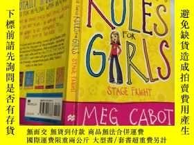 二手書博民逛書店rules罕見For Gals 女孩的規則Y200392