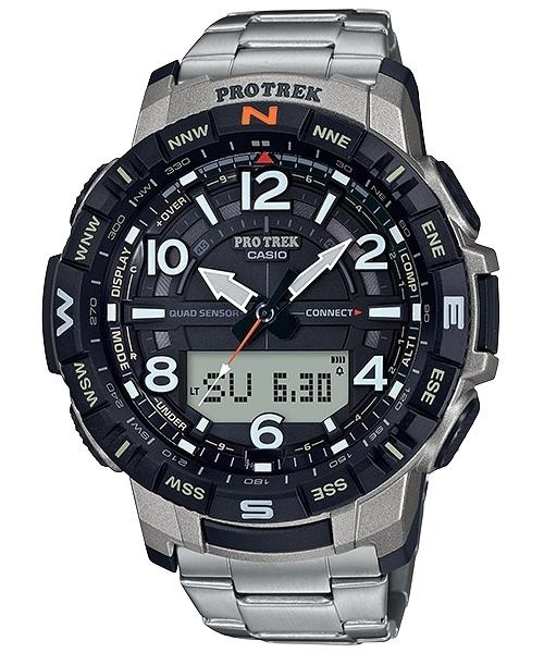 附發票 實體店面 CASIO 卡西歐 藍芽 登山錶 溫度/高度/氣壓/羅盤/計算步數 PRT-B50T-7 公司貨