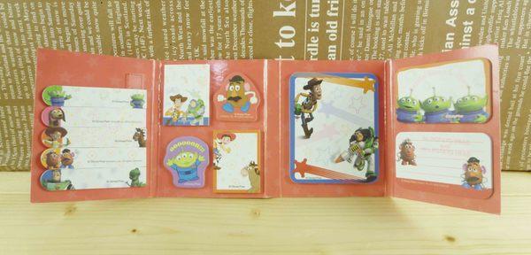 【震撼精品百貨】Metacolle 玩具總動員-便利貼紙-大集合圖案-紅色