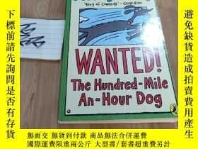 二手書博民逛書店wanted!罕見the hundred-mile-an-hour dogY15335 見圖 見圖