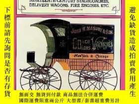 二手書博民逛書店Horse-Drawn罕見Commercial Vehicles-馬拉商用車Y443421 Berkebile