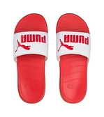 PUMA Popcat 20 男女款紅白色休閒涼拖鞋-NO.37227916