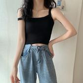 夏季2020韓版百搭性感吊帶修身顯瘦打底短款小個子純色內搭背心女