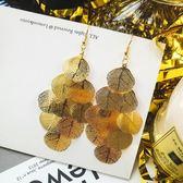 金屬耳墜耳飾歐美夸張個性長款夜店氣質流蘇韓版耳環 JA629 『時尚玩家』