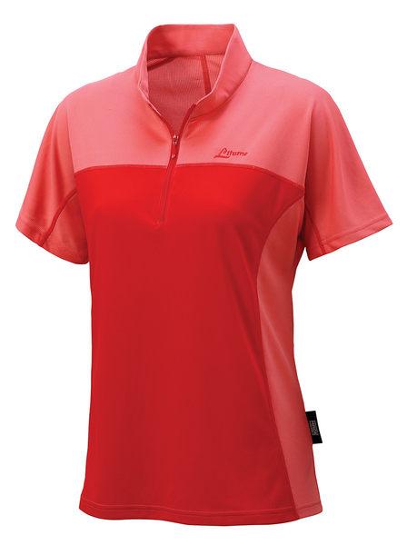 ╭OUTDOOR NICE╮意都美LITUME 女款POLARTEC POWER DRY排汗休閒衫 粉紅 PS007S 排汗衣