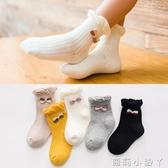兒童襪子春秋季純棉1-3-5-7-9歲女童無骨中筒棉襪女孩寶寶