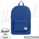 Herschel 後背包 單寧布藍  經典後背包 Classic-1335 MyBag得意時袋