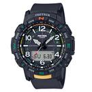CASIO PRO TREK系列 全自動LED戶外登山錶(PRT-B50-1)-黑x57mm