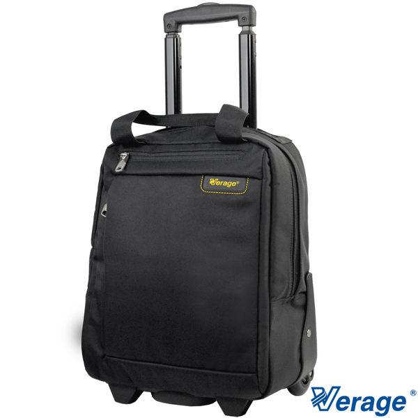 Verage~ 維麗杰時尚黑系列電腦拉桿箱(黑)