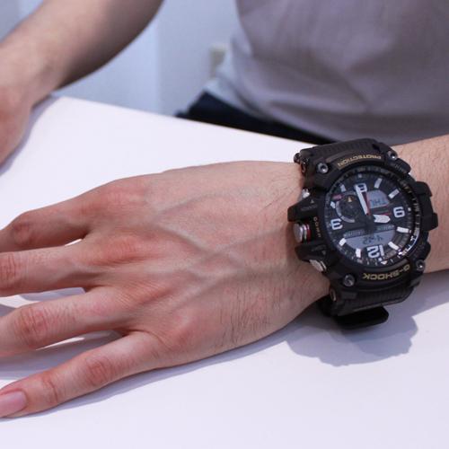 免運費包郵 新品 日本正規貨 CASIO 卡西歐 G-SHOCK GWG-1000-1AJF 太陽能電波男錶 大泥王 多功能手錶
