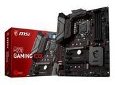 【超人百貨X】MSI H270 GAMING M3 Intel H270主機板 DDR4/VR/64GB DVI