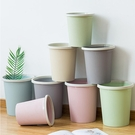 垃圾桶 創意時尚家用大號衛生間客廳廚房臥室辦公室帶壓圈無蓋垃圾桶紙簍【八折搶購】