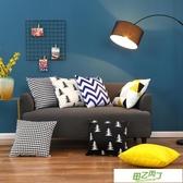北歐雙面幾何簡約抱枕黃黑灰客廳沙發靠枕現代家居軟裝樣板房靠墊 【降價兩天】