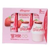 Binggrae草莓牛奶200mlX3入