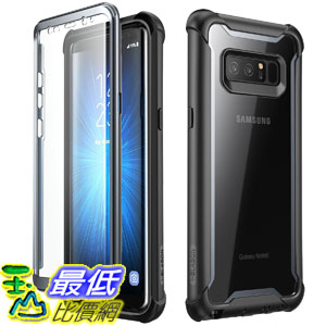 [106美國直購] 手機保護殼 Samsung Galaxy Note 8 case, i-Blason Full-body Rugged Clear Bumper Case