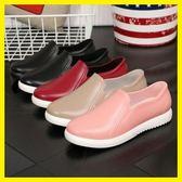 雨鞋女成人短筒韓國時尚低筒淺口雨靴廚房防滑防水鞋膠鞋情侶水鞋梗豆物語