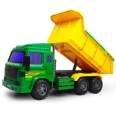 力利大號工程車慣性汽車土方攪拌車翻斗車大卡車男孩兒童玩具車模