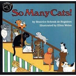 【麥克書店】SO MANY CATS! /繪本 (汪培珽推薦書目)