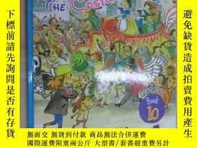 二手書博民逛書店布朗兒童英語罕見THE COSTUME PARADE( Level Four Book 10) 硬精裝Y159