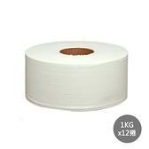 【百吉牌】滿柔環保大捲筒衛生紙1kg*12捲