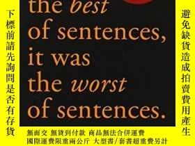 二手書博民逛書店It罕見Was The Best Of Sentences, It Was The Worst Of Senten