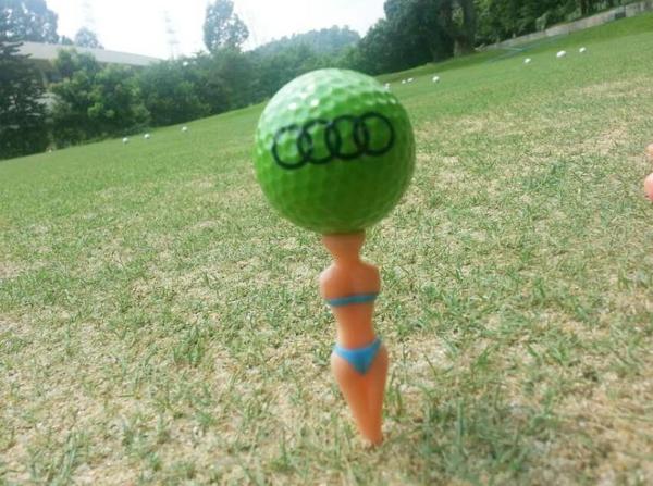 高爾夫GOLF比基尼美女球TEE(5入/組) 顏色隨機出貨 【AE10522-5】i-style 居家生活
