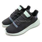 【海外限定】adidas 休閒鞋 Tubular Dusk W 黑 綠 女鞋 特殊鞋面 運動鞋【ACS】 CG6163