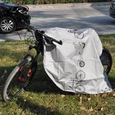 山地自行車防塵罩電動車防雨罩摩托車車罩遮陽蓋單車套車衣防水罩