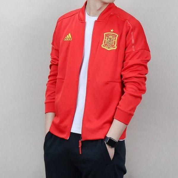 [TellCathy LINE] ADIDAS 世界盃 愛迪達 西班牙足球隊 運動外套 CE8884