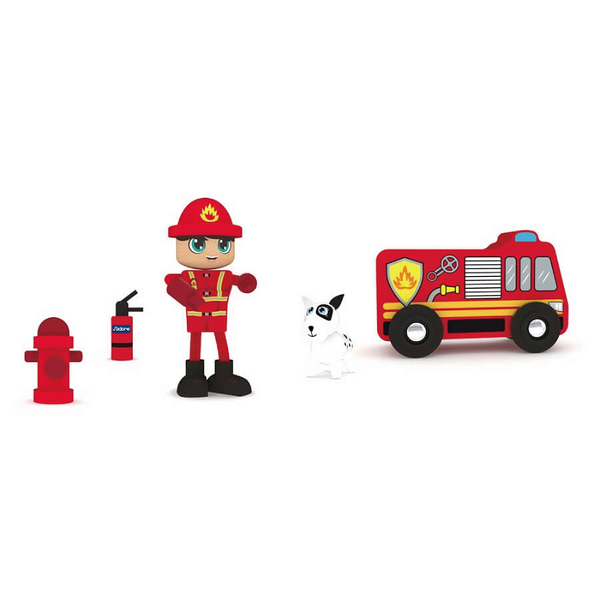 J adore 消防車木玩禮盒組