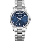 Hamilton 漢米爾頓 Jazzmaster Day Date 爵士型男機械錶-藍x銀/40mm H32505141