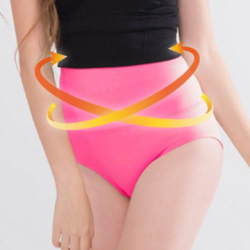 真塑美-超高腰美體保暖平腹塑身褲  度環繞塑腰 小蠻腰立即顯現 - 粉 - 波曼妮亞