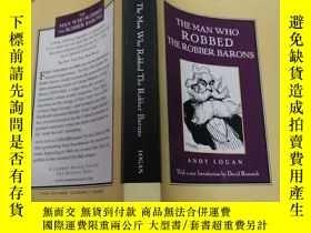 二手書博民逛書店THE罕見MAN WHO ROBBED (搶劫的人)外文版Y20