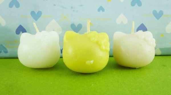 【震撼精品百貨】Hello Kitty 凱蒂貓~蠟燭~3入【共1款】