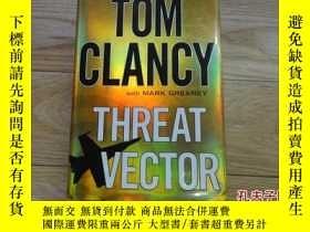 二手書博民逛書店外文原版罕見TOM CLANCY THREAT VECTOR 精