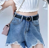 腰帶女皮帶女士網紅同款牛仔褲腰帶男潮百搭裝飾黑色褲帶ins風韓版時尚-『美人季』