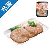 台灣豬漢堡排420G(6片)/盒【愛買冷凍】