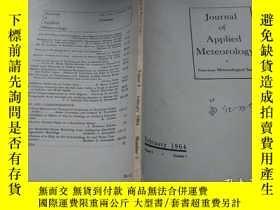 二手書博民逛書店Journal罕見of Applied Meteorology