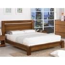 床架 床台 SB-032-1 奧斯丁5尺胡桃雙人床 (不含床墊) 【大眾家居舘】