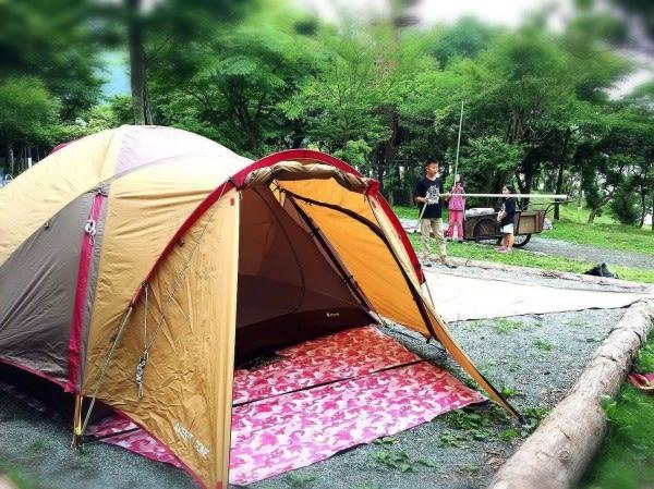 LOWDEN 270*270-超耐磨夾層網布防潮地墊/野餐墊(多功能地布)+附收納袋  迷彩系 露營 地墊 地布