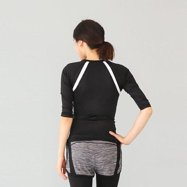 韓國健身瑜伽服上衣短袖女春夏健身房運動服跑步訓練速乾衣   - jrh0014