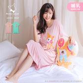 【MK0312】哺乳衣聯名款哈妮鹿荷葉裙襬洋裝