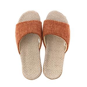 HOLA 居家平面輕便拖鞋-橘XL