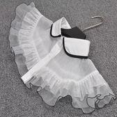 假領子領片 復古浪漫蕾絲披肩斗篷式洋裝大學T針織衫外套毛衣內搭白色[E1274] 預購.朵曼堤洋行