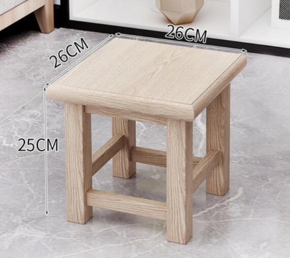 小板凳 實木小凳子家用客廳小板凳茶幾小木凳矮方凳木頭凳子創意兒童椅子【快速出貨國慶八折】