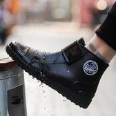 防水雨鞋 回力男款時尚短筒雨靴低幫水靴防滑耐磨膠鞋防水套鞋廚房水鞋【快速出貨八折優惠】