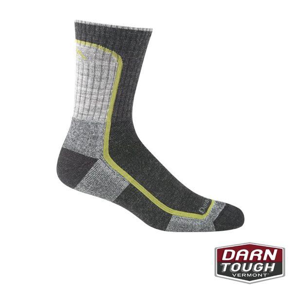 【美國DARN TOUGH】男羊毛襪LIGHT HIKER MICRO CREW LIGHT CUSHION健行襪(2入顏色隨機)