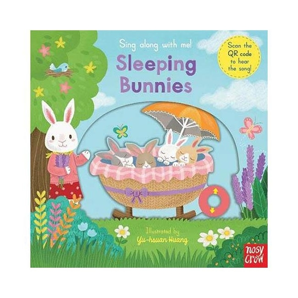 Sing Along With Me! Sleeping Bunnies 小兔兔快起床 童謠歌唱操作書(英國版)